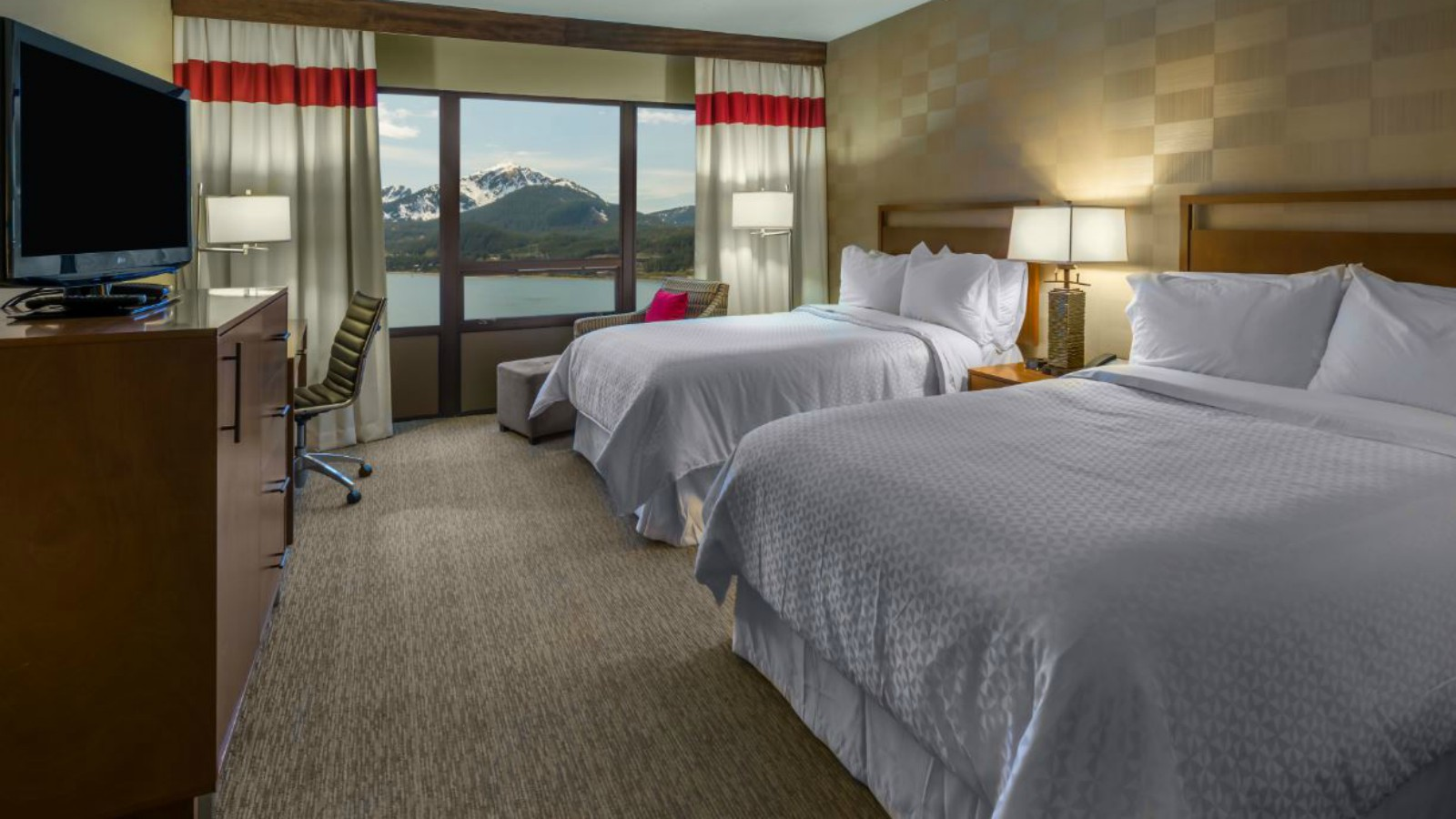 Juneau Accommodations - Double Guest Room